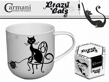 Kubek 0,5 L Carmani - Koty / Crazy Cats 33.017-2000