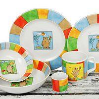 Porcelana Dla Dzieci Komplety Sztućców I Kubki Oferta Ap Pol