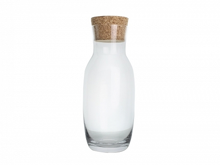 Karafka do wody z korkiem 1000 ml Krosno - Pure (Basic) 44.KA-7176-1000