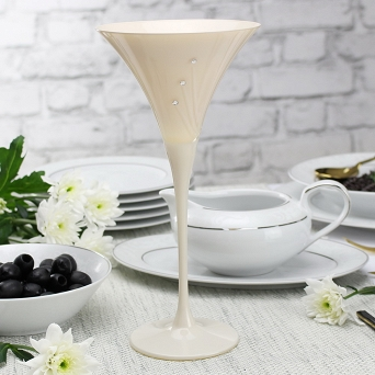 Kpl. kieliszków do martini 240 ml (2szt) Mati - Celebration White 21.31781-0240