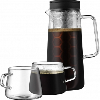 Zaparzacz (do kawy) 700 ml + 2 filiżanki WMF - Coffee Time 76.06-3246-9990