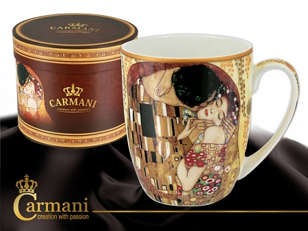 Kubek Camio 0,4 L Carmani - Gustav Klimt The Kiss 33.532-0401