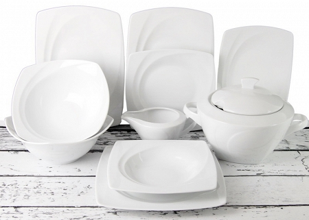 Zestawy Obiadowe Z Porcelany Na 12 Osób Sprzedaż W Ap Pol