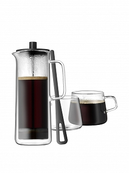 Zaparzacz (do kawy) 750 ml + 2 filiżanki WMF - Coffee Time 76.06-3245-9990