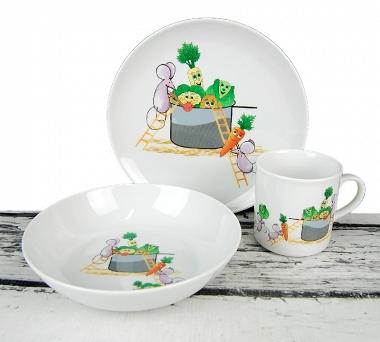 Serwisy Obiadowe Lublana Porcelana Dla Dzieci Z Ap Pol