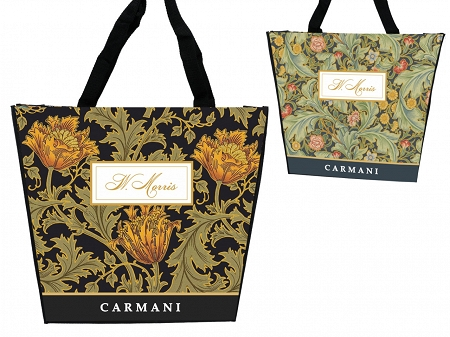 Torba na ramię 46x38x11 cm Carmani - William Morris 33.021-9011