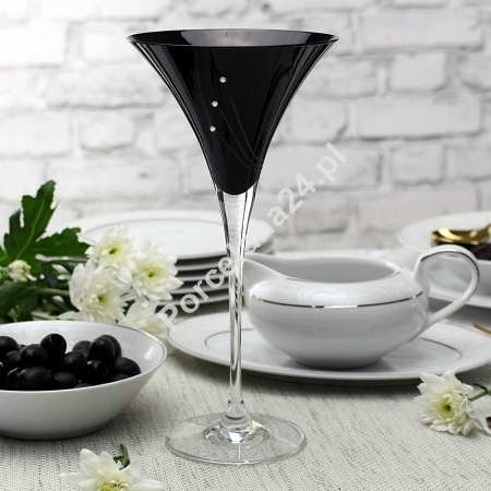 Kpl. kieliszków do martini 240 ml (2szt) Mati - Celebration Black 21.31561-0240 Kpl. kieliszków do martini 240 ml (2szt) Mati - Celebration Black 21.31561-0240