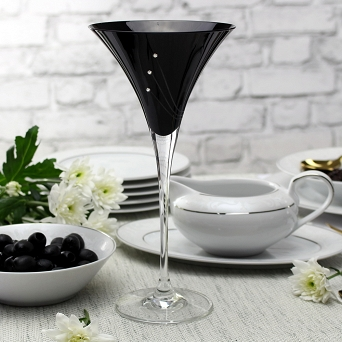Kpl. kieliszków do martini 240 ml (2szt) Mati - Celebration Black 21.31561-0240
